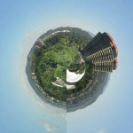 Tiny Planet – The land of trees