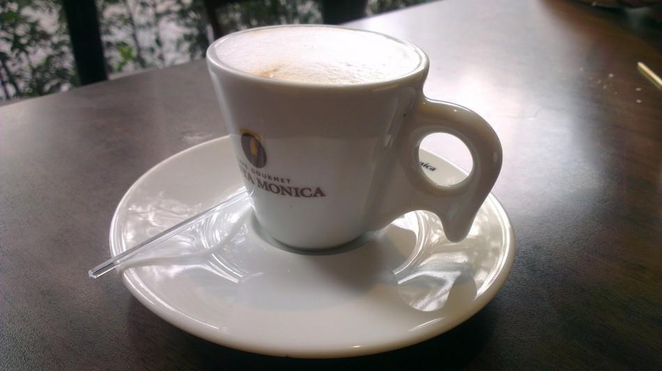 No estoy a costumbrado a tomar café en estas tacitas