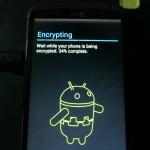 No estoy seguro de porque no había cifrado antes mi Android u.u