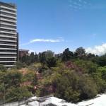 Día soleado en la ciudad de Guatemala