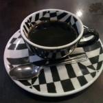 El tamaño promedio de una taza de café en Brasil
