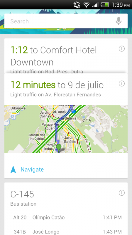 Google Now en Brasil