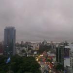 Lluviosa tarde en Buenos Aires