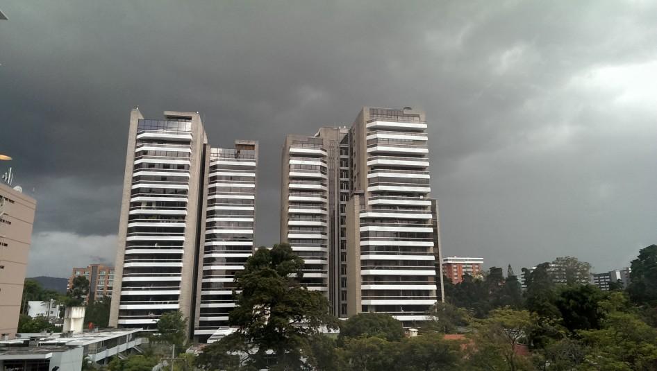 El cielo amenaza