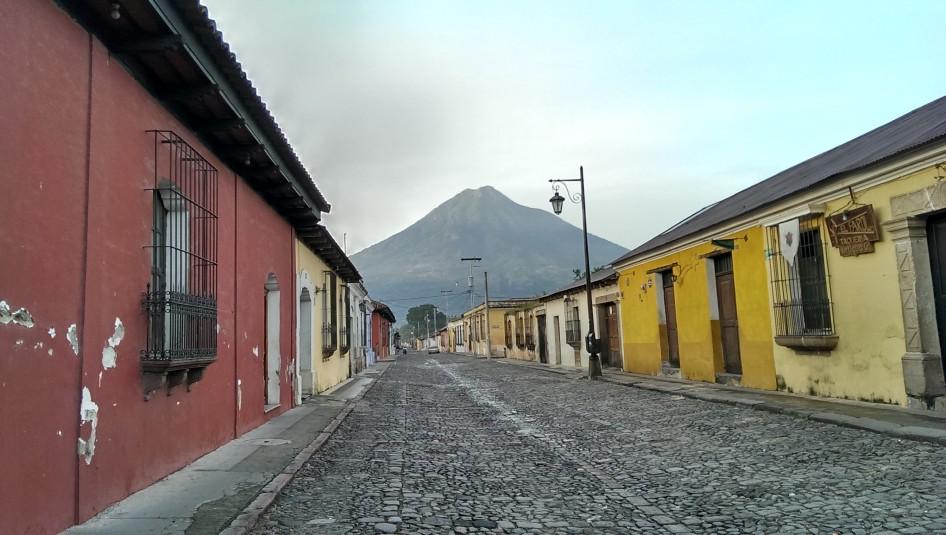 Buenos días, Antigua Guatemala
