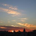 Buenos Aires al atardecer