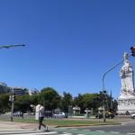 Genial clima en Buenos Aires