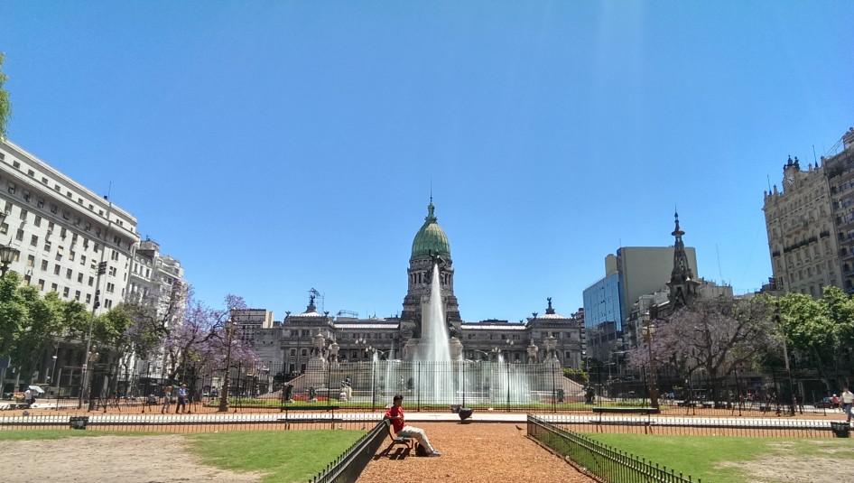 Plaza del Congreso @ Buenos Aires