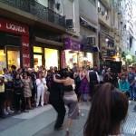 Tango en avenida Florida