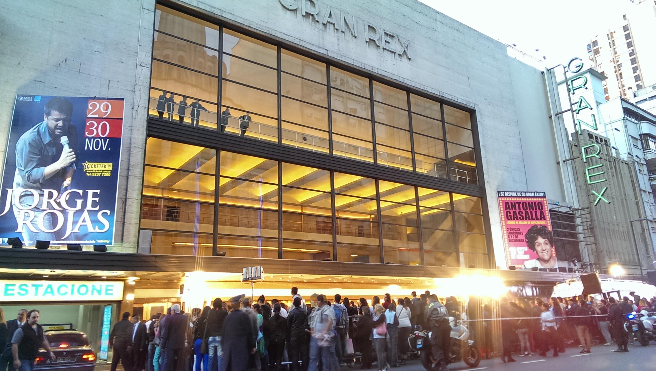 teatro gran rex argentina:
