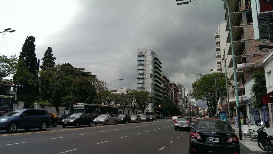 El cambiante clima en Buenos Aires