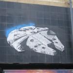 Encontré el Millennium Falcon en Buenos Aires :D