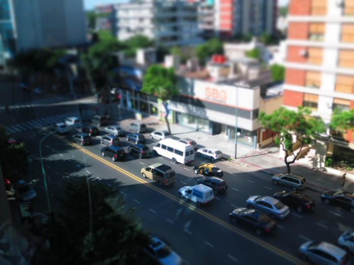Avenida Libertador y Encalada