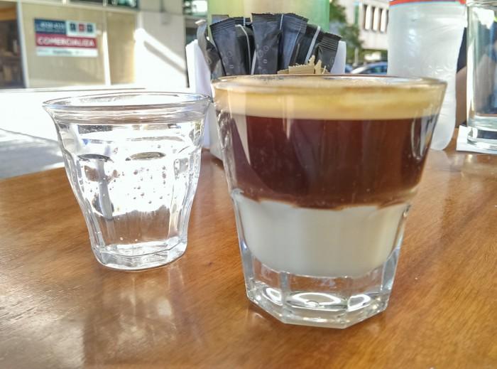 Café Havanna: Espresso con leche condensada
