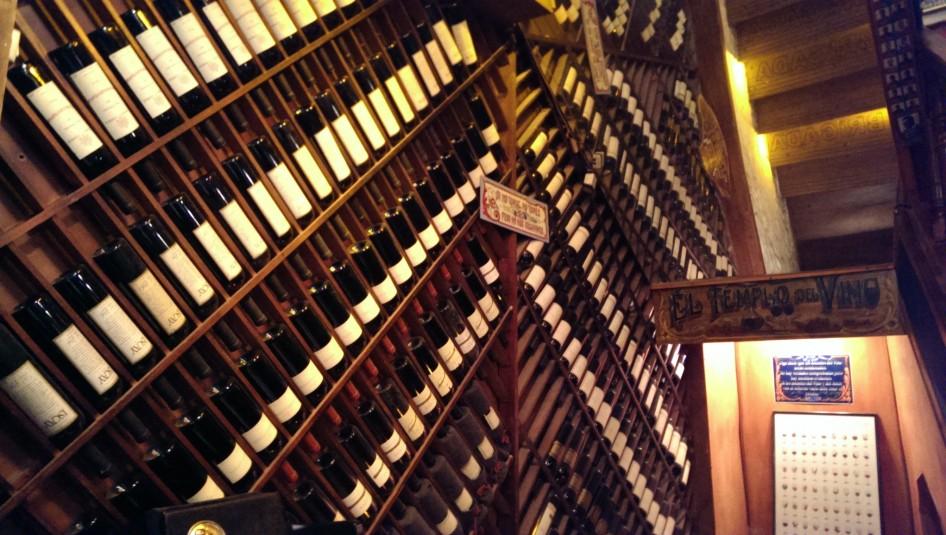 El templo de vino