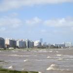 Montevideo visto desde Punta Carretas