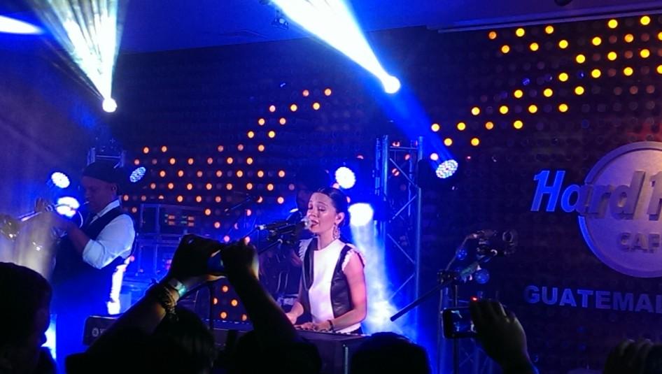 Natalia Lafourcade @ Hard Rock Cafe Guatemala
