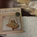 Modelo de la catapulta de Da Vinci