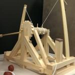 Modelo de la catapulta de Da Vinvi (terminado)