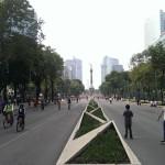 Domingo por la tarde en Reforma