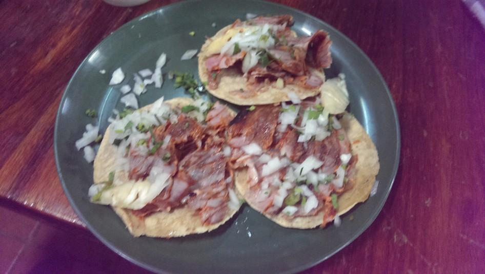 Verdaderos tacos al pastor @ El Vilsito