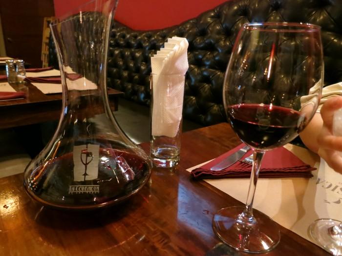 Cena con vino Alto las Hormigas