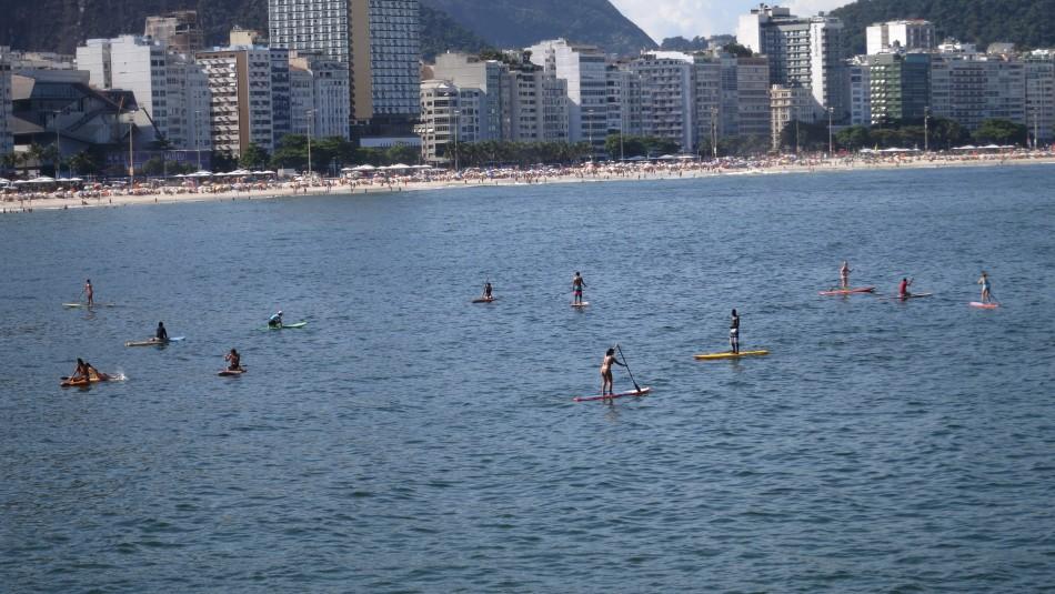Paddle Boarding @ Copacabana
