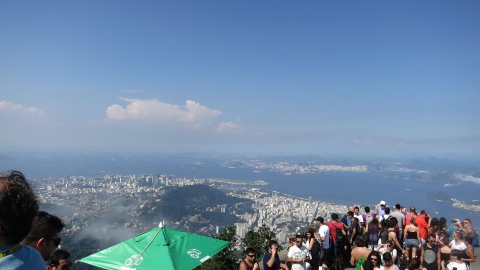 Vista  de Rio de Janeiro desde el Corcovado
