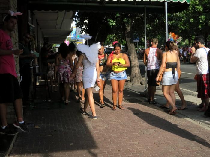 Bloco em Ipanema