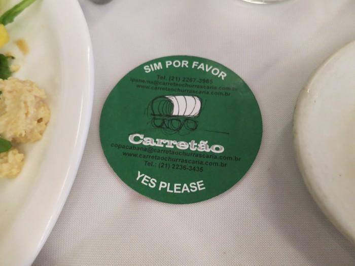"""""""Si por favor"""" @ Churrascaria Carretão"""
