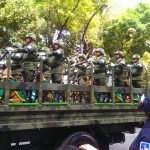 Desfile militar en Reforma