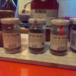 Sal de chapulin, cacao y gusano