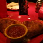 Calzone @ Home Slice Pizza