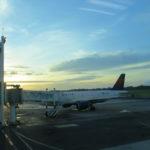 Amanecer en el Aeropuerto Augusto Sandino