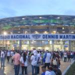 Juego inaugural del estadio nacional Dennis Martinez, Nicaragua vs Taiwan