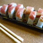 Rollito de jamón serrano y salmón @ Unagi sushi / 1001 noches
