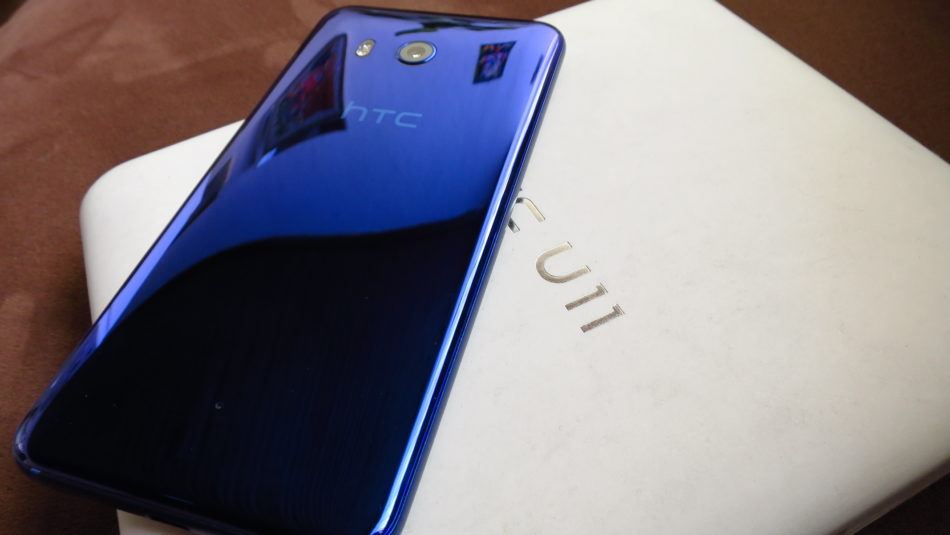 telefono htc u11 - color azúl safiro