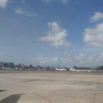 Primero se despejó el cielo a que este avión saliera