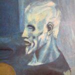 Hoy logré ver mi pintura favorita de Picasso: El viejo guitarrista