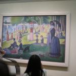 """""""Tarde de domingo en la isla de la Grande Jatte"""" (1884) de Georges Seurat"""