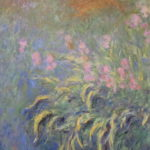 """Irises"" de Claude Monet"