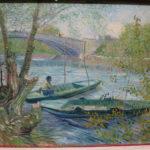 Pescando en primavera (Van Gogh, 1887)