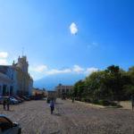 Qué día tan bonito en La Antigua Guatemala