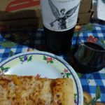 Pizza con vino, por que no…