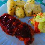 Pollo Katsu con salsa Tonkatsu