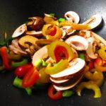 la comida no solo son sabores sino también colores 😋