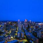 Seattle Downtown desde el Space Needle