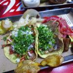 Pastor, Res y Chicharrón @ Tacos Orinoco