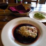 Lomito tinto con queso gorgonzola @ Brassica